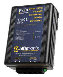 Alfatronix Spannungswandler PV12S (12/18A)